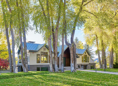Aspen Single Family Home For Sale: 715 Meadows Road