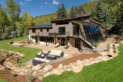 Aspen Single Family Home For Sale: 39 Roaring Fork Drive