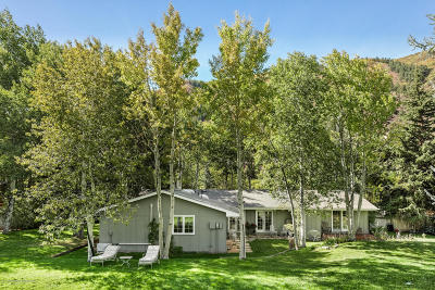 Snowmass Single Family Home For Sale: 71 Mountain Shadow Way
