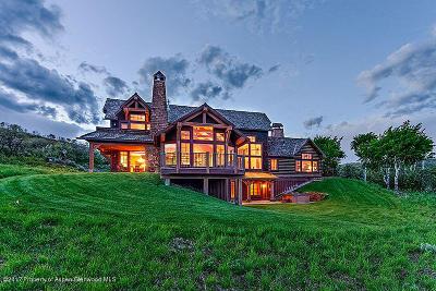 Glenwood Springs Single Family Home For Sale: 1690 High Aspen