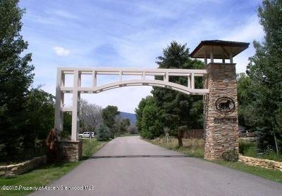 Carbondale Residential Lots & Land For Sale: Tbd Equestrian Way
