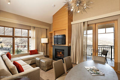 Snowmass Condo/Townhouse For Sale: 130 Wood Road #641