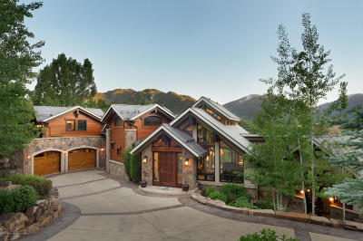 Aspen Single Family Home For Sale: 294/296 Draw Drive