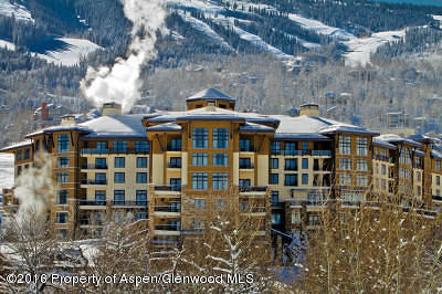 Snowmass Condo/Townhouse For Sale: 130 Wood Road #337