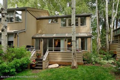 Aspen Condo/Townhouse For Sale: 100 N 8th