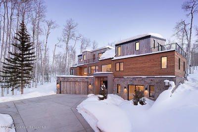 Snowmass Single Family Home For Sale: 150 Baby Doe