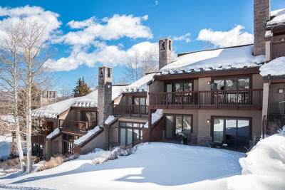 Snowmass Condo/Townhouse For Sale: 810 Ridge Road #Unit 4
