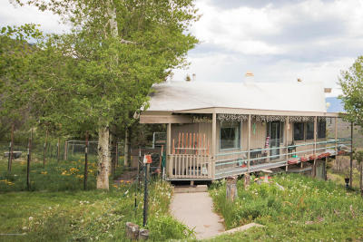 Snowmass Single Family Home For Sale: 525 Shield O Road
