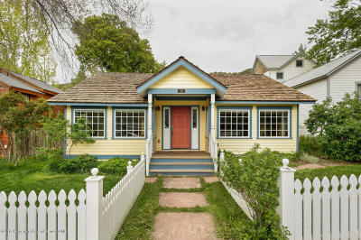 Basalt Single Family Home For Sale: 120 E Sopris Drive