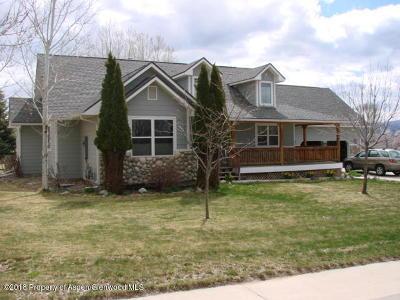 Silt Single Family Home For Sale: 504 N Golden Drive