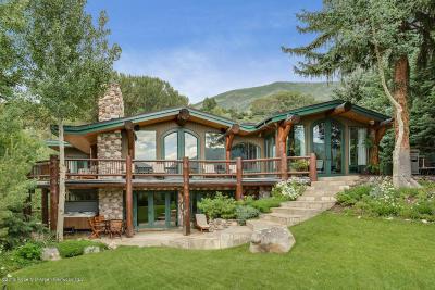Aspen Single Family Home For Sale: 69 Herron Hollow Road
