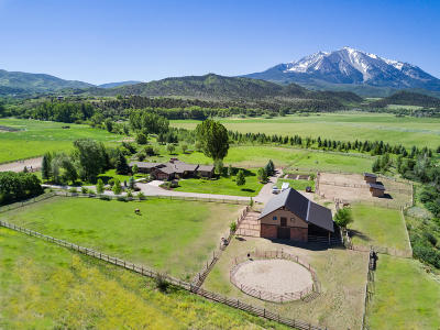 Carbondale Farm & Ranch For Sale: 1567 Prince Creek Road