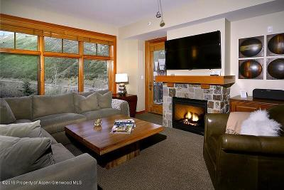 Snowmass Condo/Townhouse For Sale: 90 Carriage Way #Unit #33