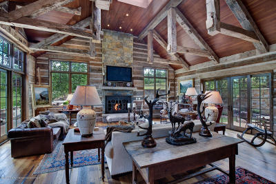 Snowmass Single Family Home For Sale: 4305 Snowmass Creek Road