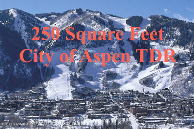 Aspen Residential Lots & Land For Sale: City Tdr City Tdr