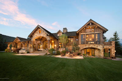 Snowmass Single Family Home For Sale: 780 Pioneer Springs Road