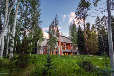 Snowmass Single Family Home For Sale: 84 Pine Lane