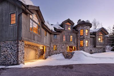 Snowmass Single Family Home For Sale: 143 Aspen Way