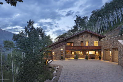 Aspen, Snowmass Single Family Home For Sale