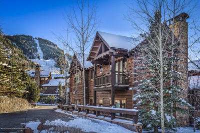Aspen Condo/Townhouse For Sale: 75 Thunderbowl Lane