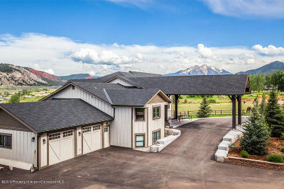 Glenwood Springs Single Family Home For Sale: 2074 County Road 109