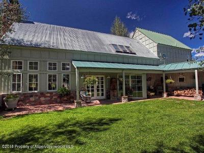 Basalt Farm & Ranch For Sale: 2240 Old Herron Road