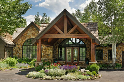 Snowmass Single Family Home For Sale: 690 Pioneer Springs Ranch Road