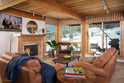 Snowmass Condo/Townhouse For Sale: 855 Carriageway #Trails 1
