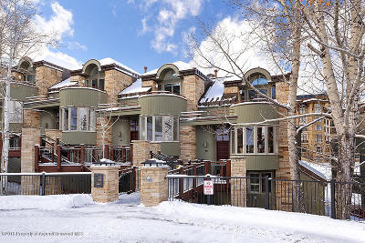 Snowmass Condo/Townhouse For Sale: 381 Ridge Road #B5
