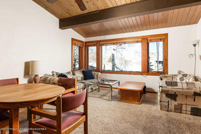 Snowmass Condo/Townhouse For Sale: 600 Carriage Way #K-14
