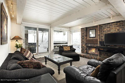 Snowmass Condo/Townhouse For Sale: 855 Carriage Way #Slope 20