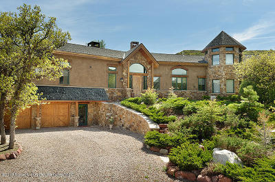 Aspen Single Family Home For Sale: 1960 Juniper Hill Road