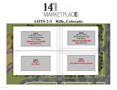 Rifle Commercial Lots & Land For Sale: 1415 Railroad Avenue #Lot 2
