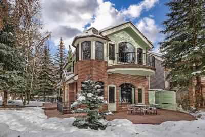 Aspen Single Family Home For Sale: 302 N 2nd Street