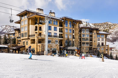Snowmass Condo/Townhouse For Sale: 130 Wood Road #703