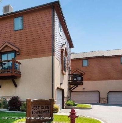 Glenwood Springs Condo/Townhouse For Sale: 110 County Road 135 #Unit H