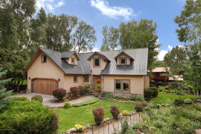 Basalt Single Family Home For Sale: 60 River Cove Court