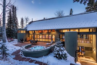Snowmass Single Family Home For Sale: 1155 Wood Road