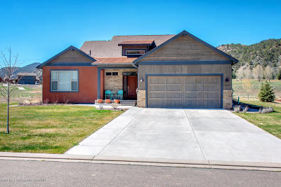 Glenwood Springs Single Family Home For Sale: 1627 River Bend Way