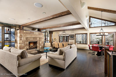 Snowmass Single Family Home For Sale: 342 Ridge Road