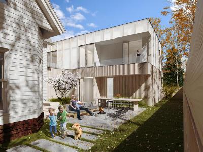 Aspen, Snowmass Single Family Home For Sale: 124 W Hallam Street #PLUS LOT