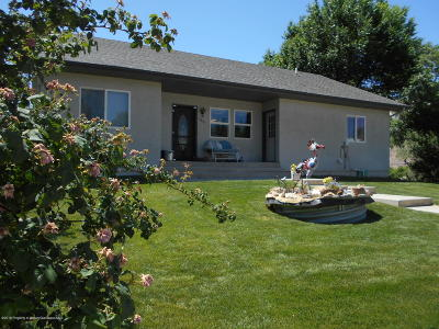 Battlement Mesa, Parachute Single Family Home For Sale: 5851 County Road 309