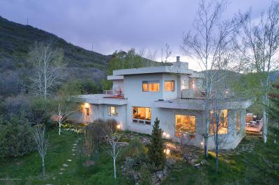 Aspen, Snowmass Single Family Home For Sale: 122/148 Tabula Rasa Lane