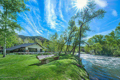 Basalt Single Family Home For Sale: 7800 Frying Pan Road
