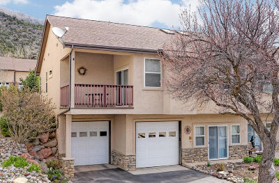 Glenwood Springs Condo/Townhouse For Sale: 9 Gamba Drive