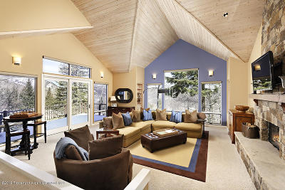 Snowmass Single Family Home For Sale: 18 Edgewood Lane