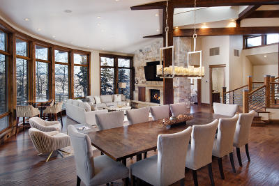 Snowmass Single Family Home For Sale: 1457 Wood Road