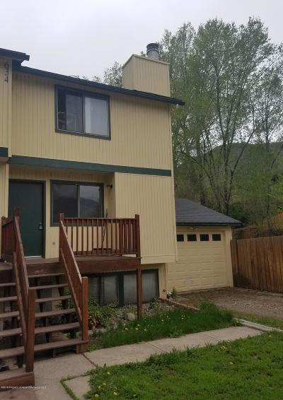 Glenwood Springs Condo/Townhouse For Sale