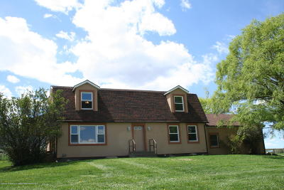 Battlement Mesa, Parachute Single Family Home For Sale: 487 County Road 337