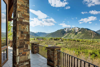 Aspen, Snowmass Single Family Home For Sale: 418 Wrights Road